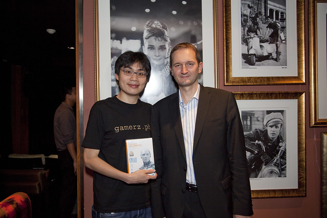 Pavol Luka (ESET CTO) and I