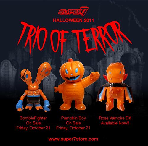 Trio of Terror!!