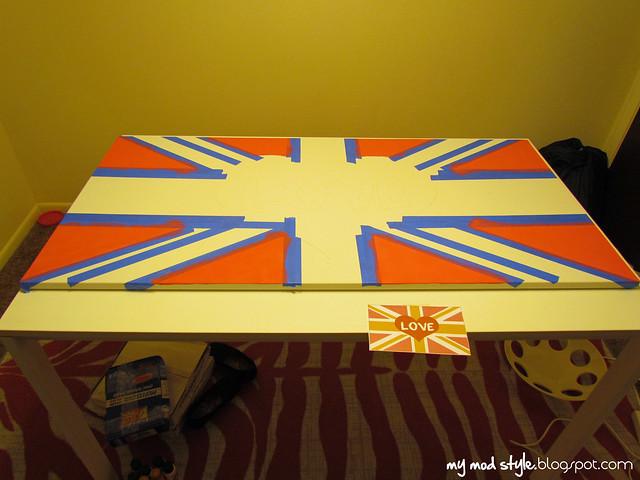 Painting Union Jack3