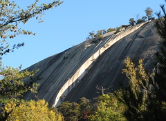 Large crack at Stone Mountain Photo