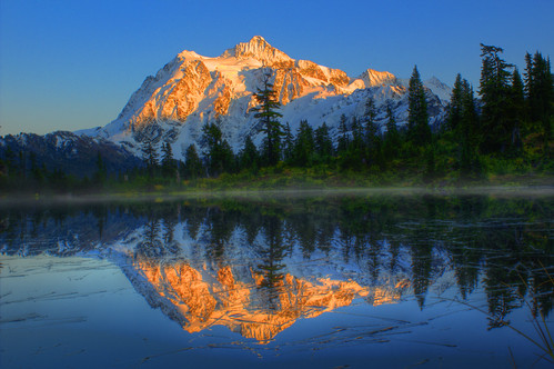 Shuksan Sunset by FlyingColors (i) Contact, on Flickr