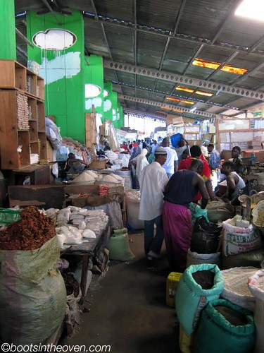 Inside the Kariakoo Market