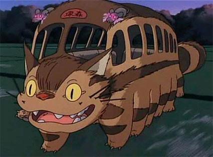 gatobus, Mi vecino Totoro