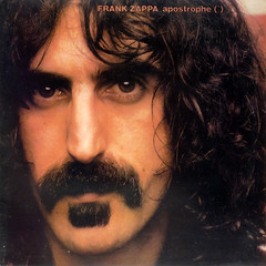 apostrophe (*) (epiclectic) Tags: music art face vintage album 1987 vinyl retro moustache collection jacket cover lp record sleeve soulpatch frankzappa epiclectic