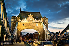 Tower Bridge - London (R. Ahmed Photography) Tags: london nikon towerbridgelondon nikond7000