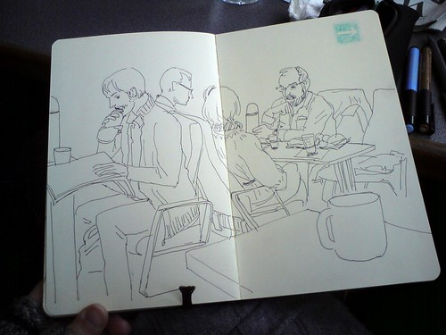 ferry sketching