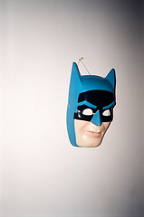 mask (Jacob Seaton) Tags: blue white black wall pin mask baltimore batman