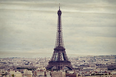 Mon chrie Paris (Joeyful~) Tags: paris texture love vintage tour eiffel dear gettyimages toits parisienne chrie