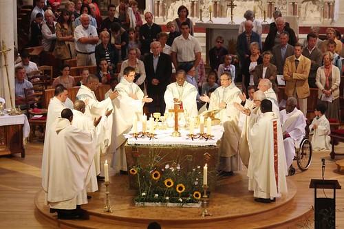 Consagración en una ceremonia