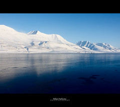Mountains in The Adventfjord (Hkon Kjllmoen, Norway) Tags: ocean mountains cold ice water beautiful calm svalbard arctic clear mines spitsbergen naturesfinest natureselegantshots fotocompetition fotocompetitionbronze mygearandme