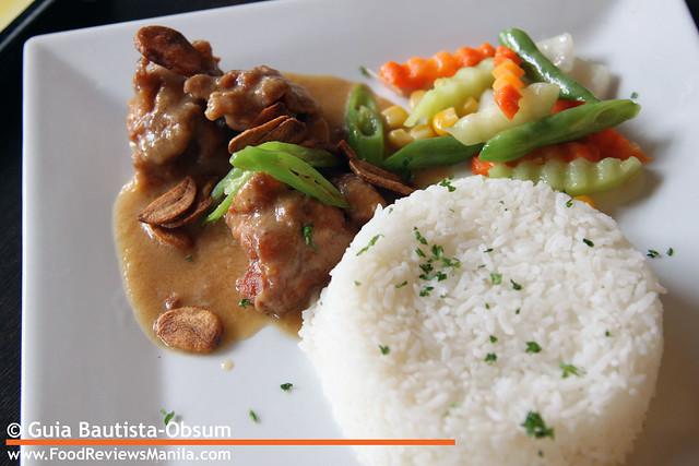 Las Paellas Chicken Al Ajillo