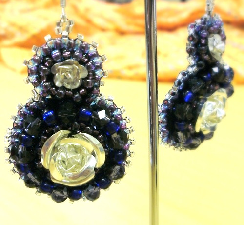 Evening earrings for Rachel Butler