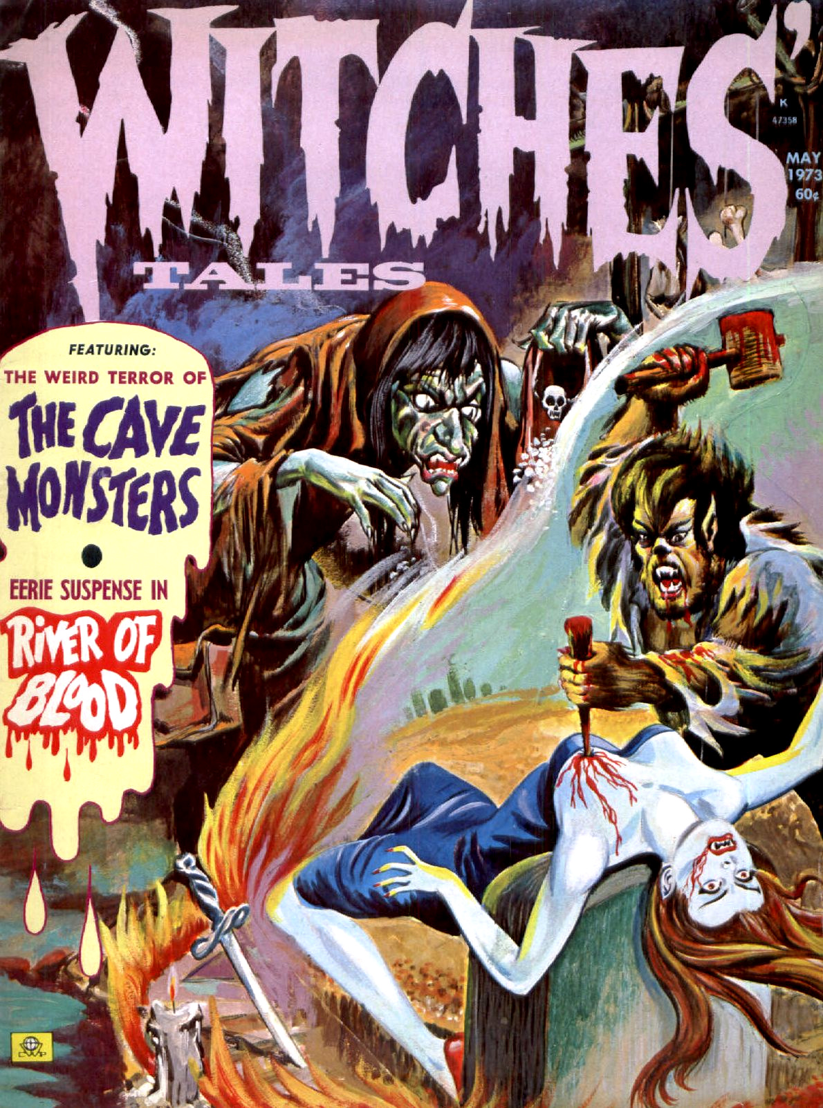 Witches' Tales Vol. 5 #3 (Eerie Publications 1973)