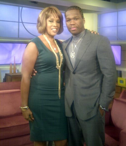 50 Cent and Gayle King 1