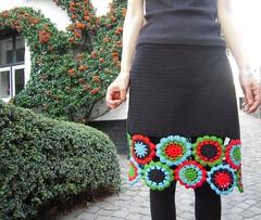 Jupe (Alma Chita) Tags: fleurs crochet granny japonaises habitsencrochet espritgitan espritbohème fleursjaponaises