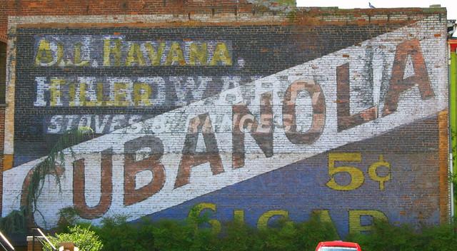 Faded Wall Ad - Radford, VA