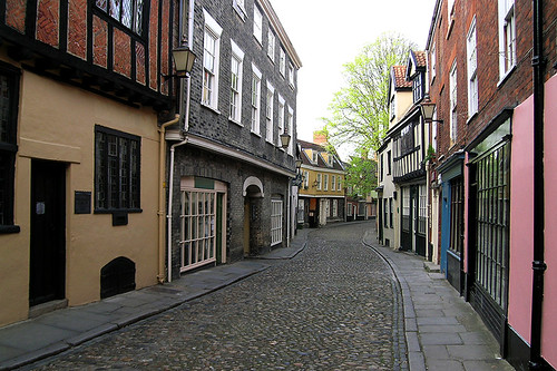 Norwich - Elm Hill Colours