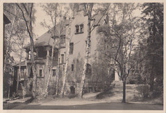 house with birches (indigo_mint) Tags: old house vintage photo birch