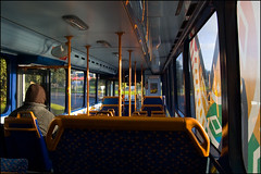 Inside a Waka Pacific bus