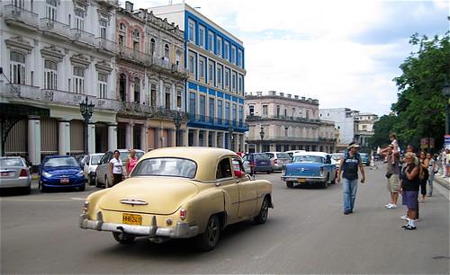 havana central park - streets- cuba