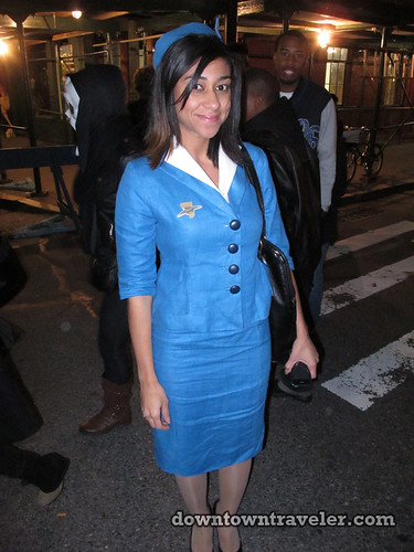 NYC Village Halloween Parade 2011_Pan Am Stewardess