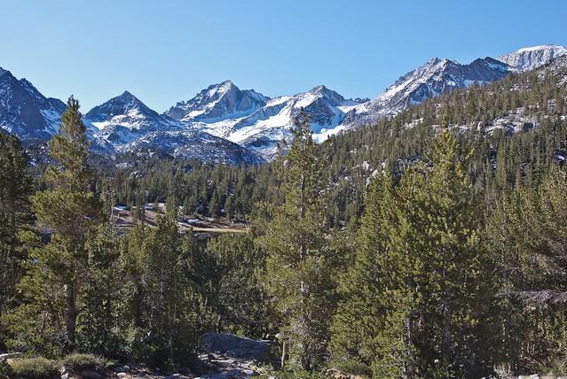 Bear Creek Spire (center)