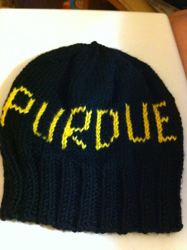 Hunter's Purdue Hat