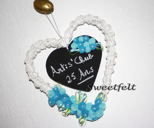 ♥♥♥ E aqui está a minha contribuição para a tômbola da exposição do Artis' Club!  Joguem e ganhem!! by sweetfelt \ ideias em feltro