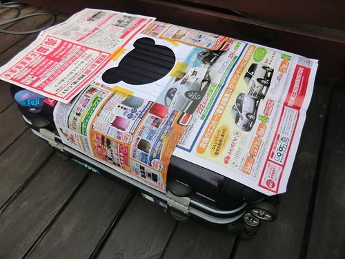 KUMA on my suitcase