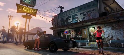 GTA V / Grand Theft Auto 5 jau greitai...