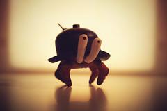 Crab Hat ([rich]) Tags: clock hat toy crab kidrobot clockwork custom windup ume steampunk sculpt umetoys