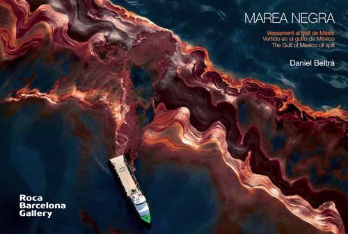 Captura catálogo expo 'Marea Negra' de Daniel Beltrá (rocabarcelonagallery.com)