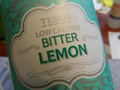 Tesco bitter lemon (new label!)