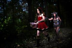 (Sarah Burnie) Tags: fairytale forest canon sigma littleredridinghood strobist canon580 sigma530super sarahburnie