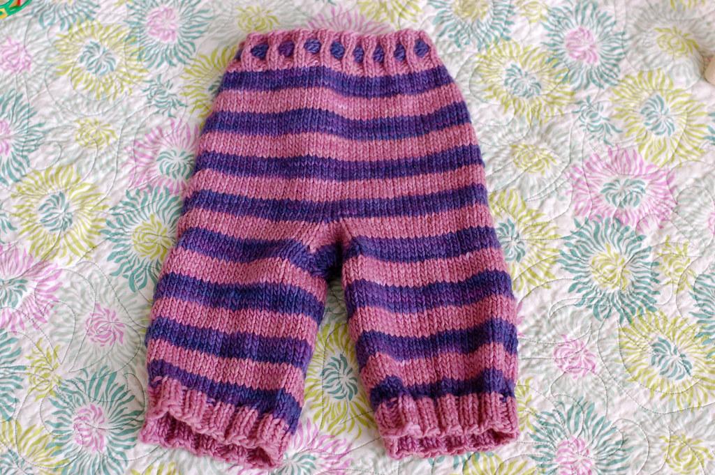 stripy picky pants