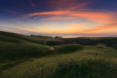 The hill (Dan. D.) Tags: sky cloud green dan canon de landscape island la long exposure hill le 5d madeleine mkii iles desroches magdelein
