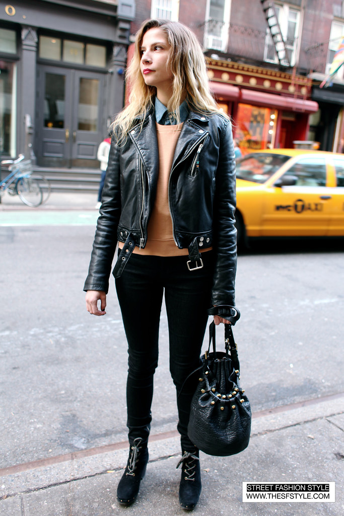 leatherPrep  streetstyle fashion blog New York SFS thesfstyle STREETFASHIONSTYLE JT Tran Dyanna Dawson