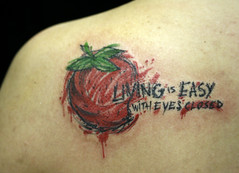 strawberry fields forever (taiom) Tags: strawberry morango livingiseasywitheyesclosed tattootatuagemtaiomvanguardvctbrasilia