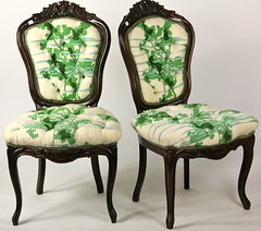 195. Pair of French Chairs