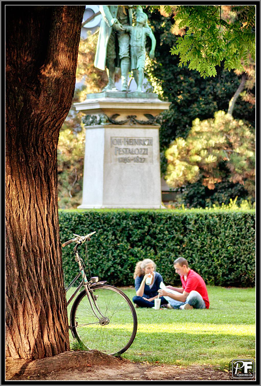 Zuriqueses - En el parque