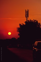 End Of Summer (puthoOr photOgraphy) Tags: sunset sky sunlight silhouette lightroom skyshot dohaqatar d90 adobelightroom lightroom3 amazingqatar puthoor gettyimagehq