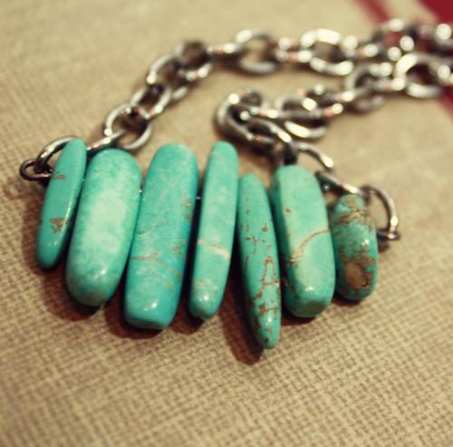 turquoise row