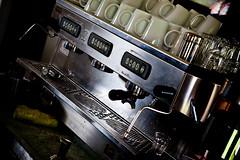 Espresso Coffee Machine (Serendigity) Tags: coffee machine australia queensland espresso sunshinecoast crystalwaters ecovillage 2011 bezzera wellnessfest