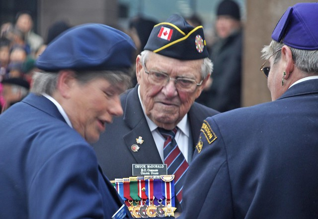 A Decorated War Veteran