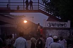 Chuadanga Railway Station (Asif Adnan Shajal) Tags: life bridge light summer man station canon photography photo asia day photographer district passengers railwaystation trainstation transportation 1855mm bangladesh asif bangla adnan southasia bangladeshi  saarc chuadanga shajal 1000d bangladeshrailway