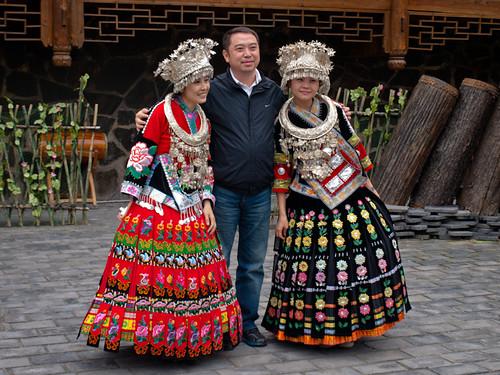 Xijiang - turistas