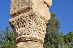 Anjar, Umayyad city, al-Walid I, 705-15, along the decumanus maximus (6) (Prof. Mortel) Tags: lebanon umayyad anjar