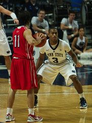 Trew Lewis Plays Defense (acaben) Tags: basketball pennstate defense collegebasketball ncaabasketball psubasketball pennstatebasketball treylewis