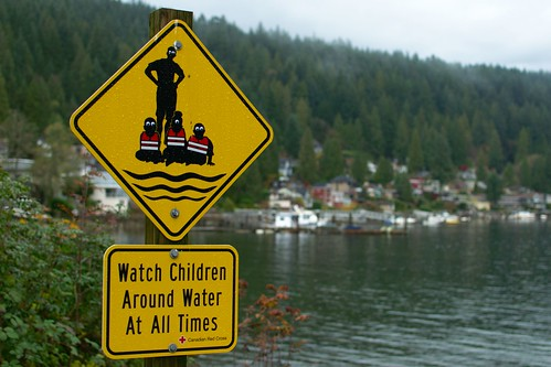 Watch Children (with weird eye(s)) Around Water At All Times