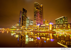Australia - explore (john white photos) Tags: night reflections evening australia melbourne victoria crowncasino yarrariver capitalcity